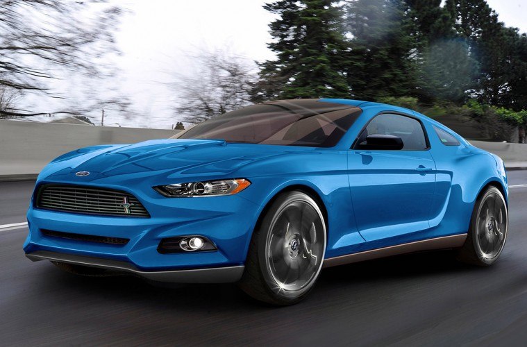 2015 Mustang Rendering