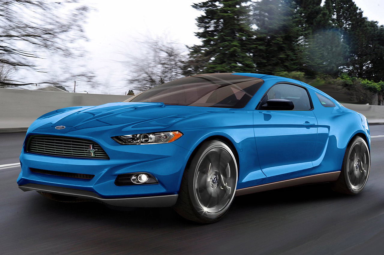 2015 ford mustang to be lighter and smaller updated motor review. Black Bedroom Furniture Sets. Home Design Ideas
