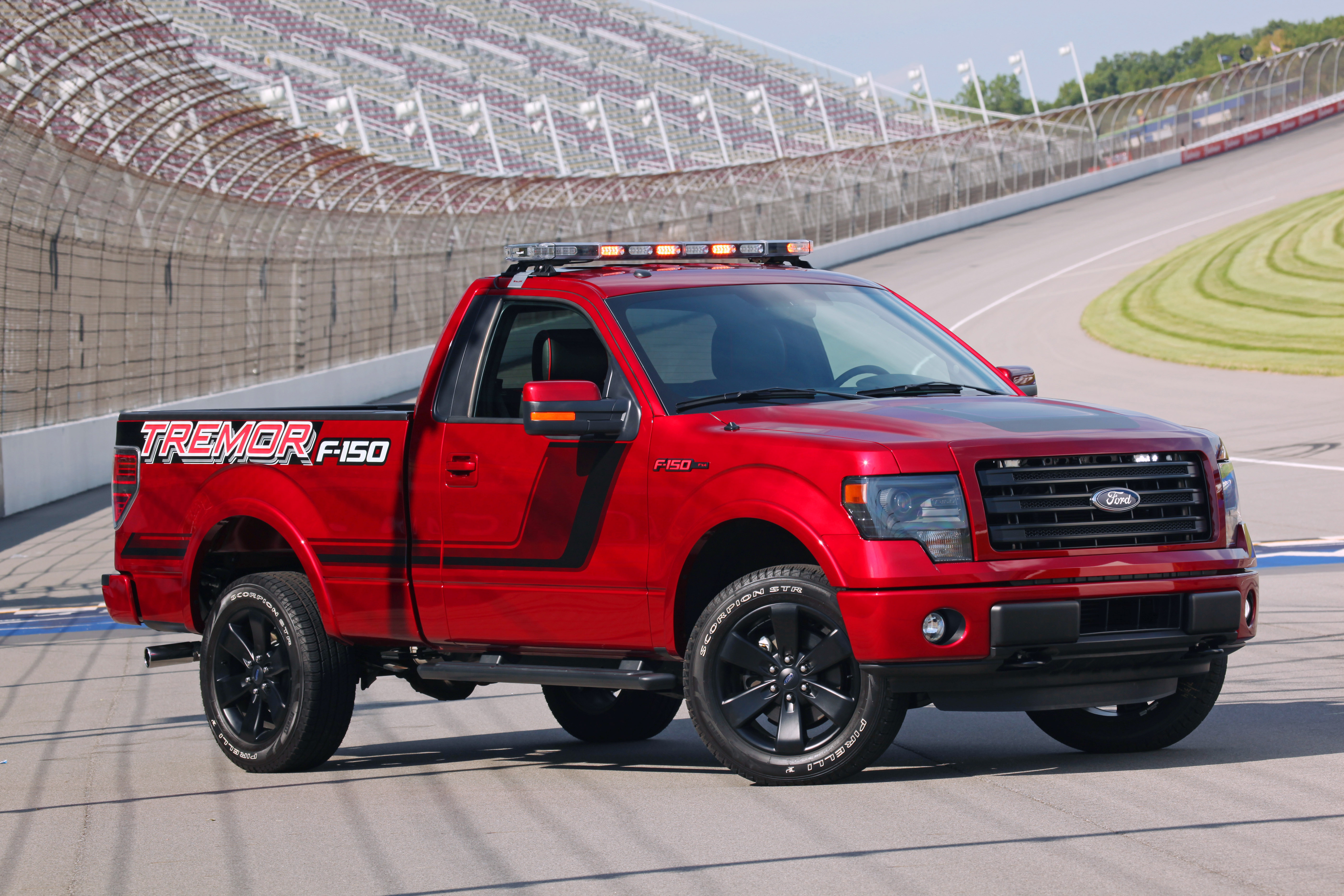 Ford F 150 Tremor To Pace Nascar Truck Race Motor Review