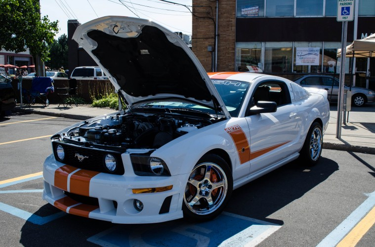 2007 ford mustang roush 427r a standout mustang motor. Black Bedroom Furniture Sets. Home Design Ideas