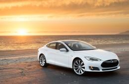 A self driving Tesla?