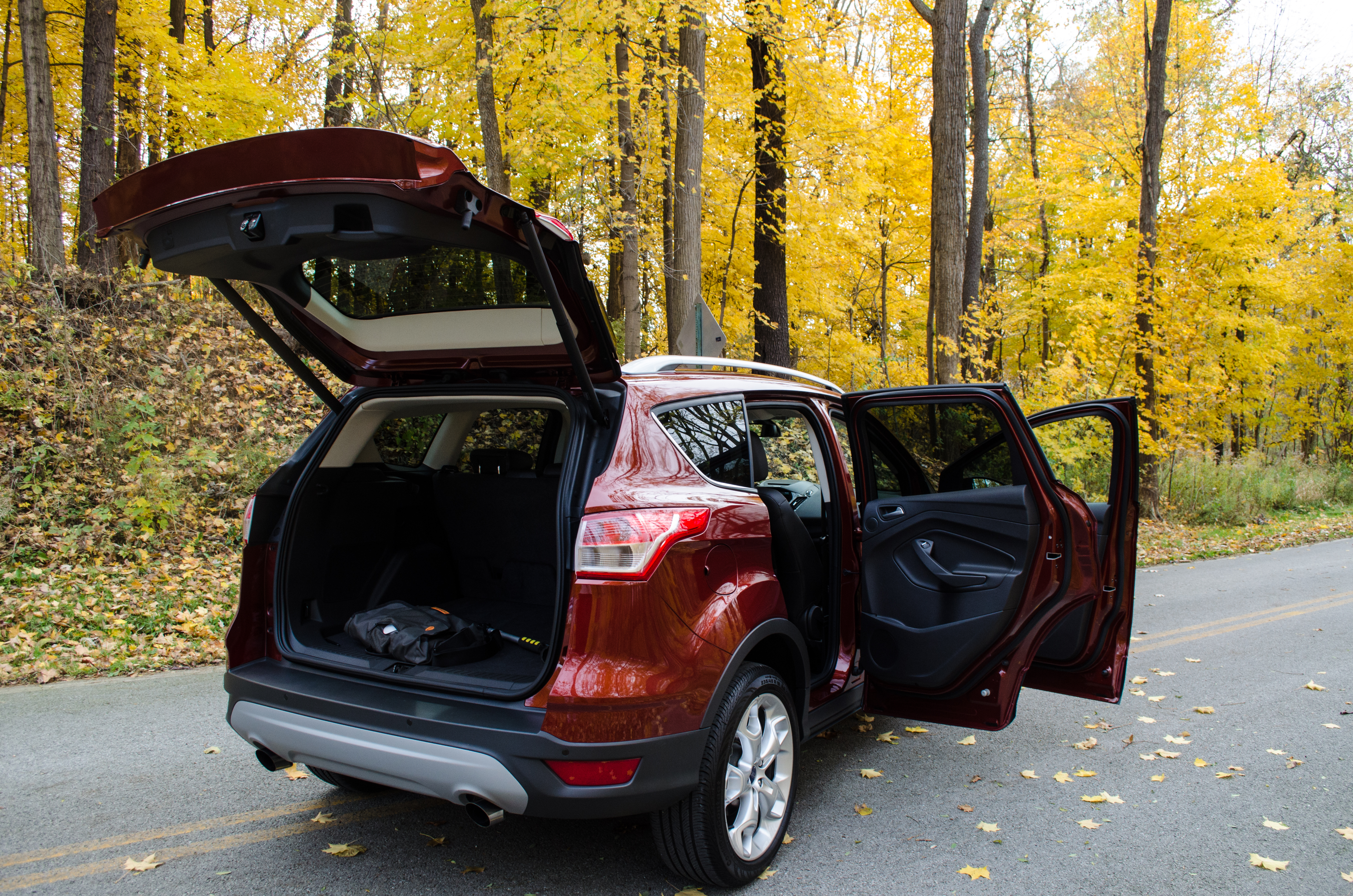 2014 Ford Escape Titanium 10 Of 34 Motor Review