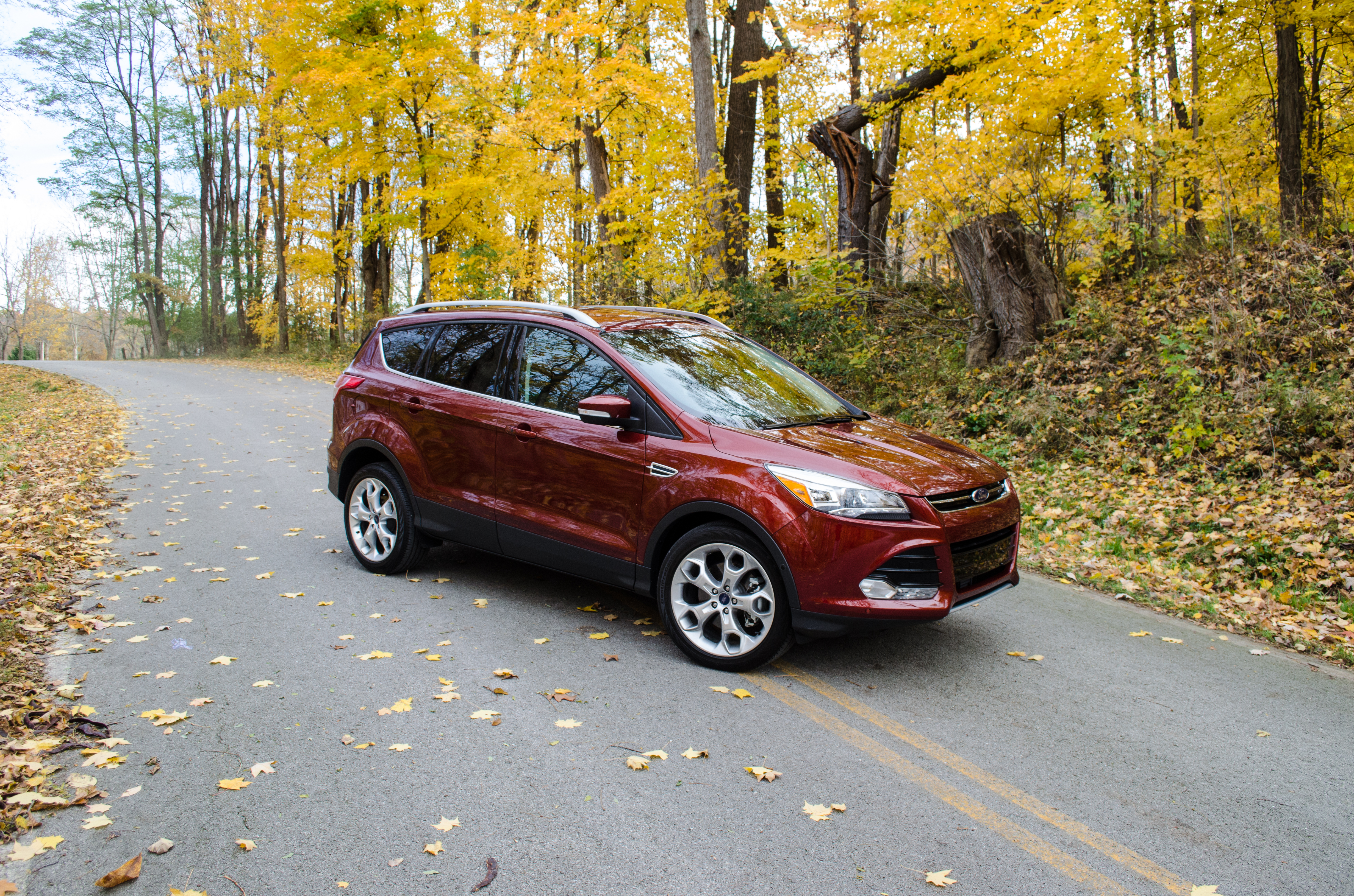2014 Ford Escape Titanium 15 Of 34 Motor Review