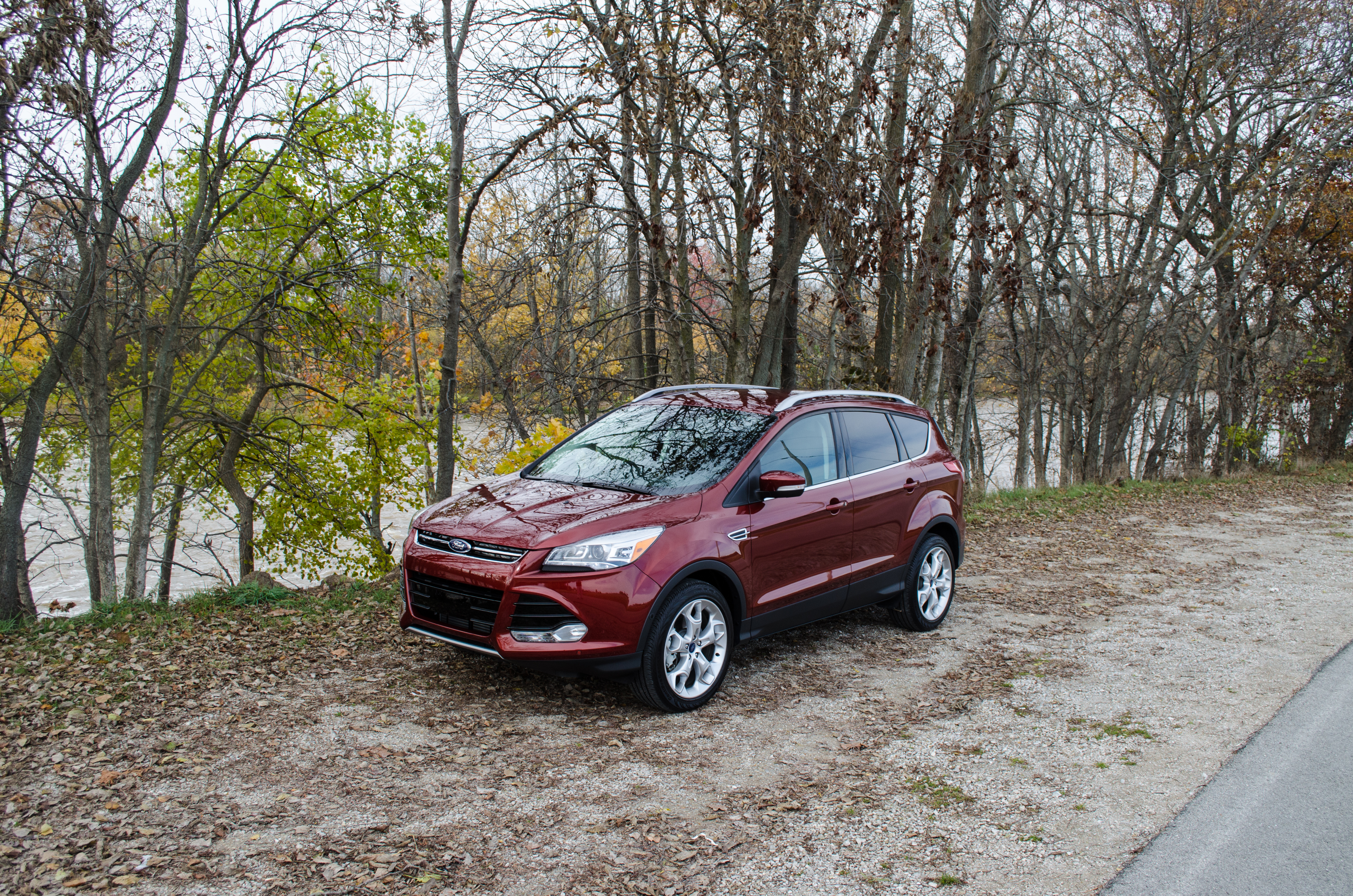 2014 Ford Escape Titanium 18 Of 34 Motor Review