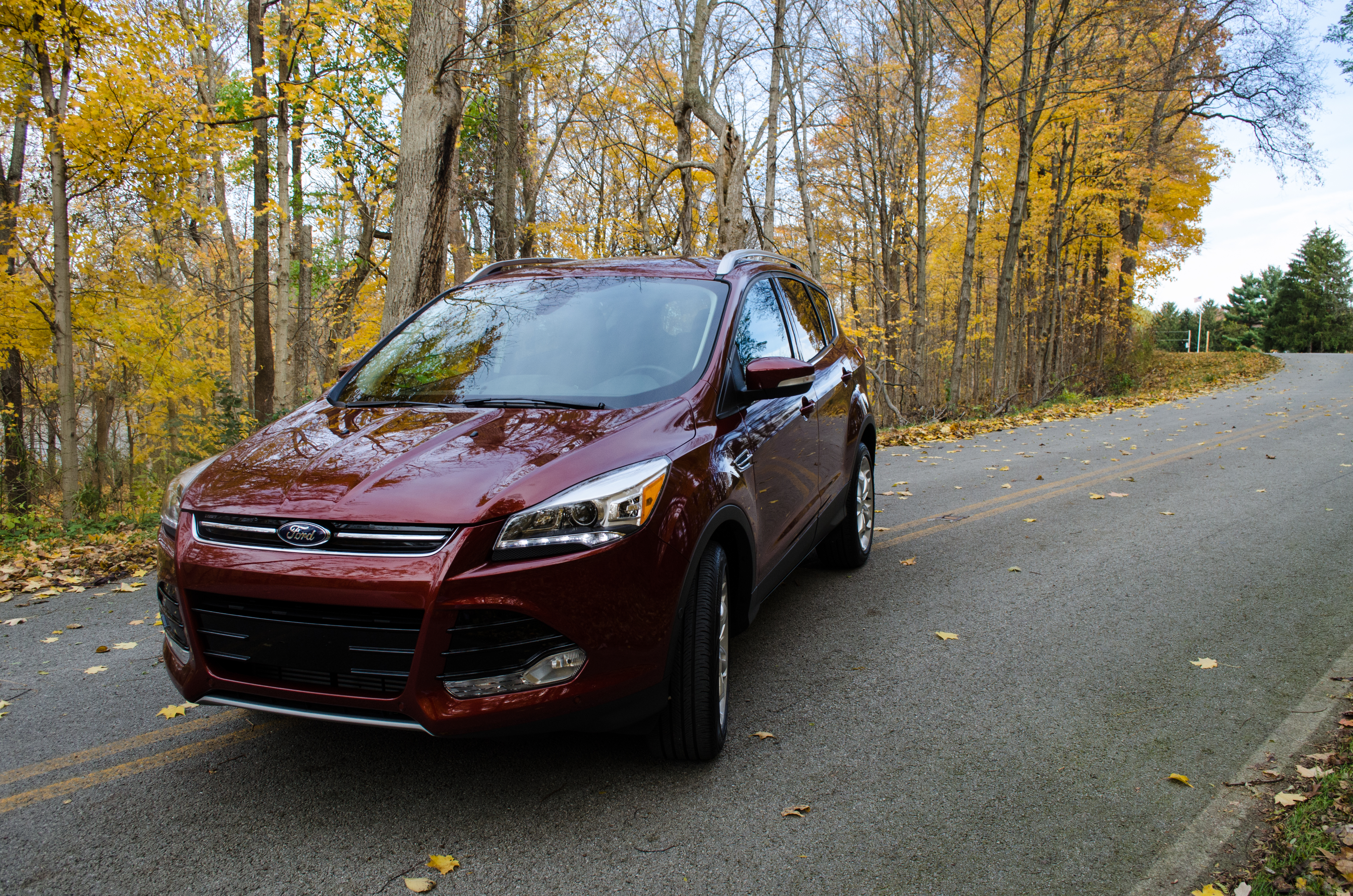 2014 Ford Escape Titanium 4 Of 34 Motor Review