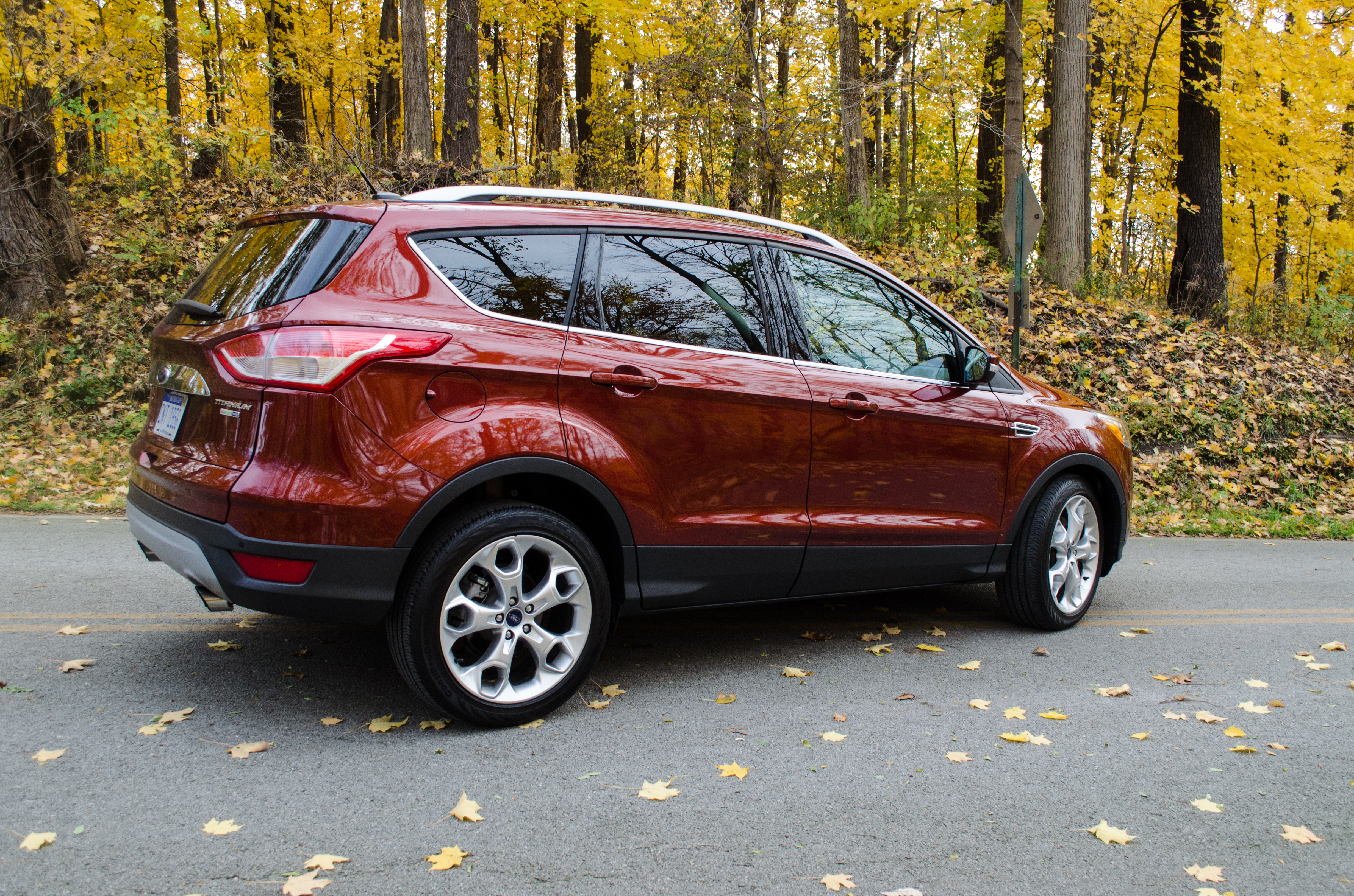 2014 Ford Escape Titanium 8 of 34  Motor Review