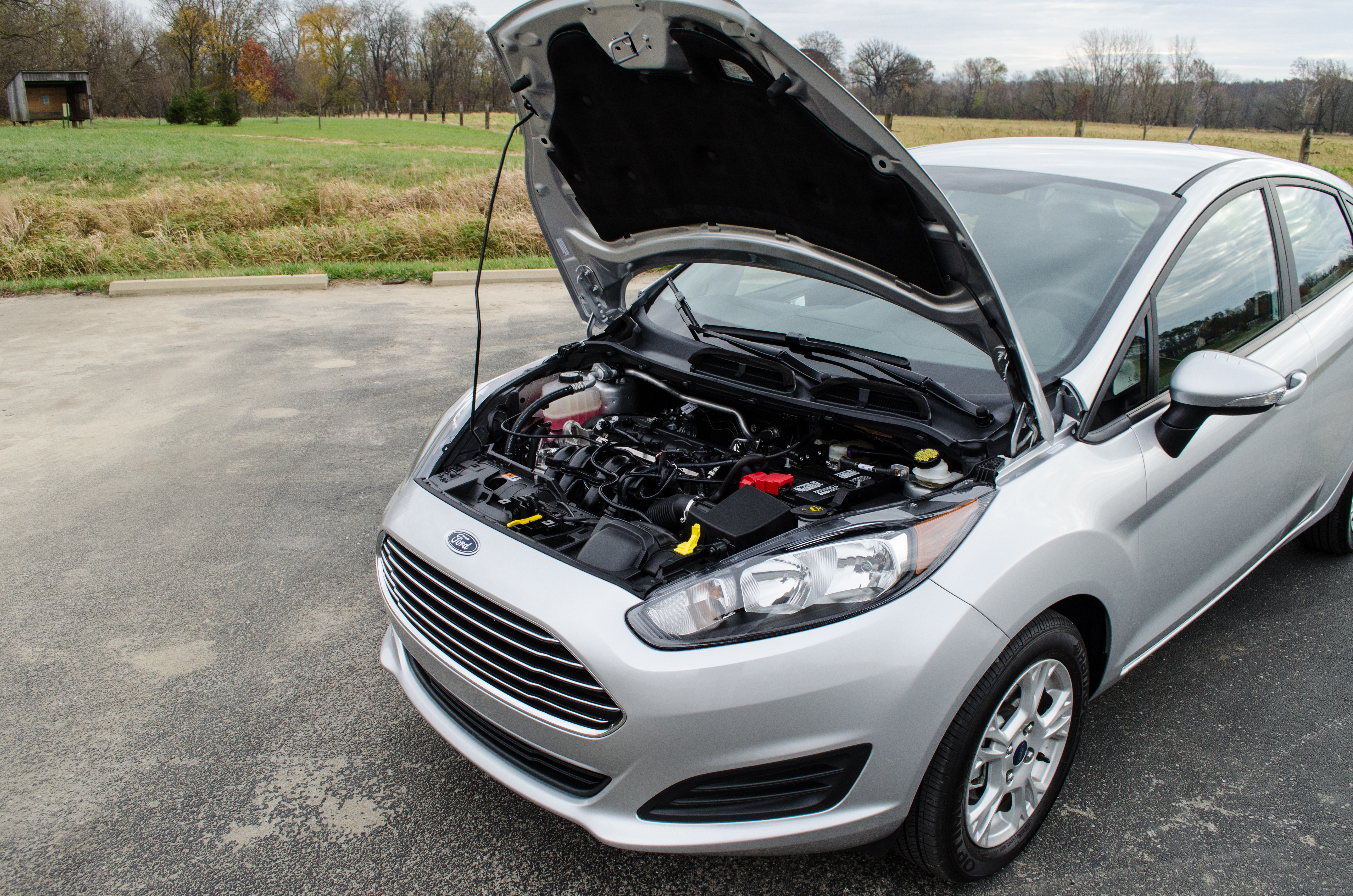 2014 Ford Fiesta Se 20 Of 28 Motor Review