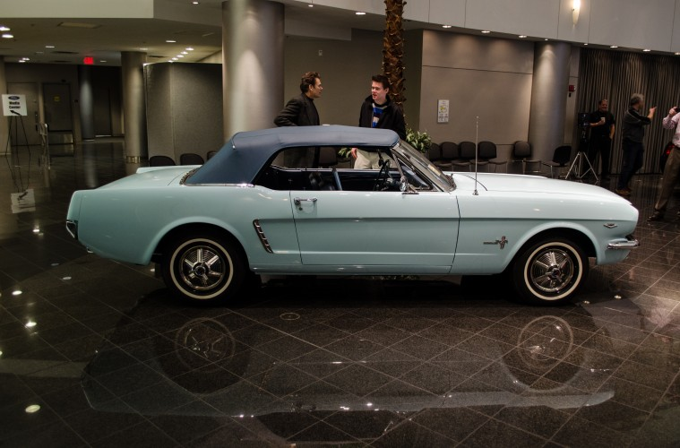Ford Recognizes Owner Of First Mustang Ever