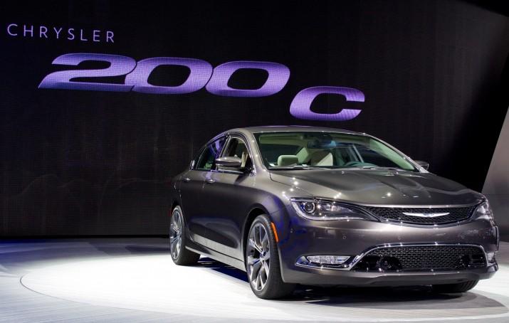 The new 2015 Chrysler 200.