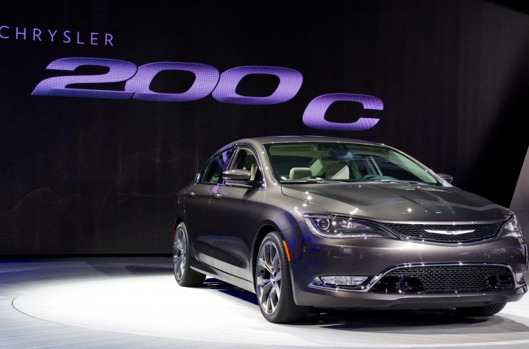 The new 2015 Chrysler 200.