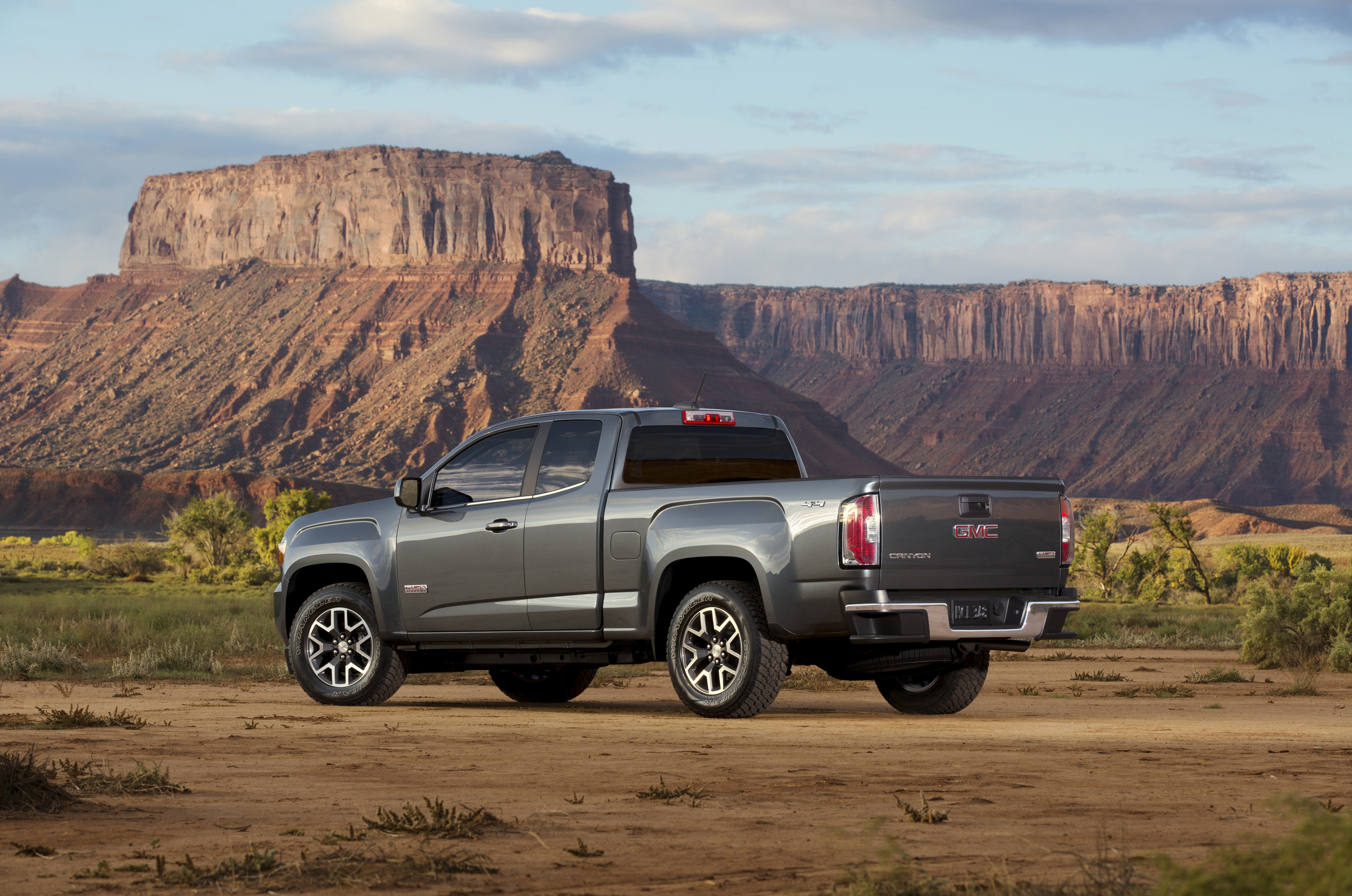 2015 Gmc Canyon All Terrain Sle Extended Cab Short Bed