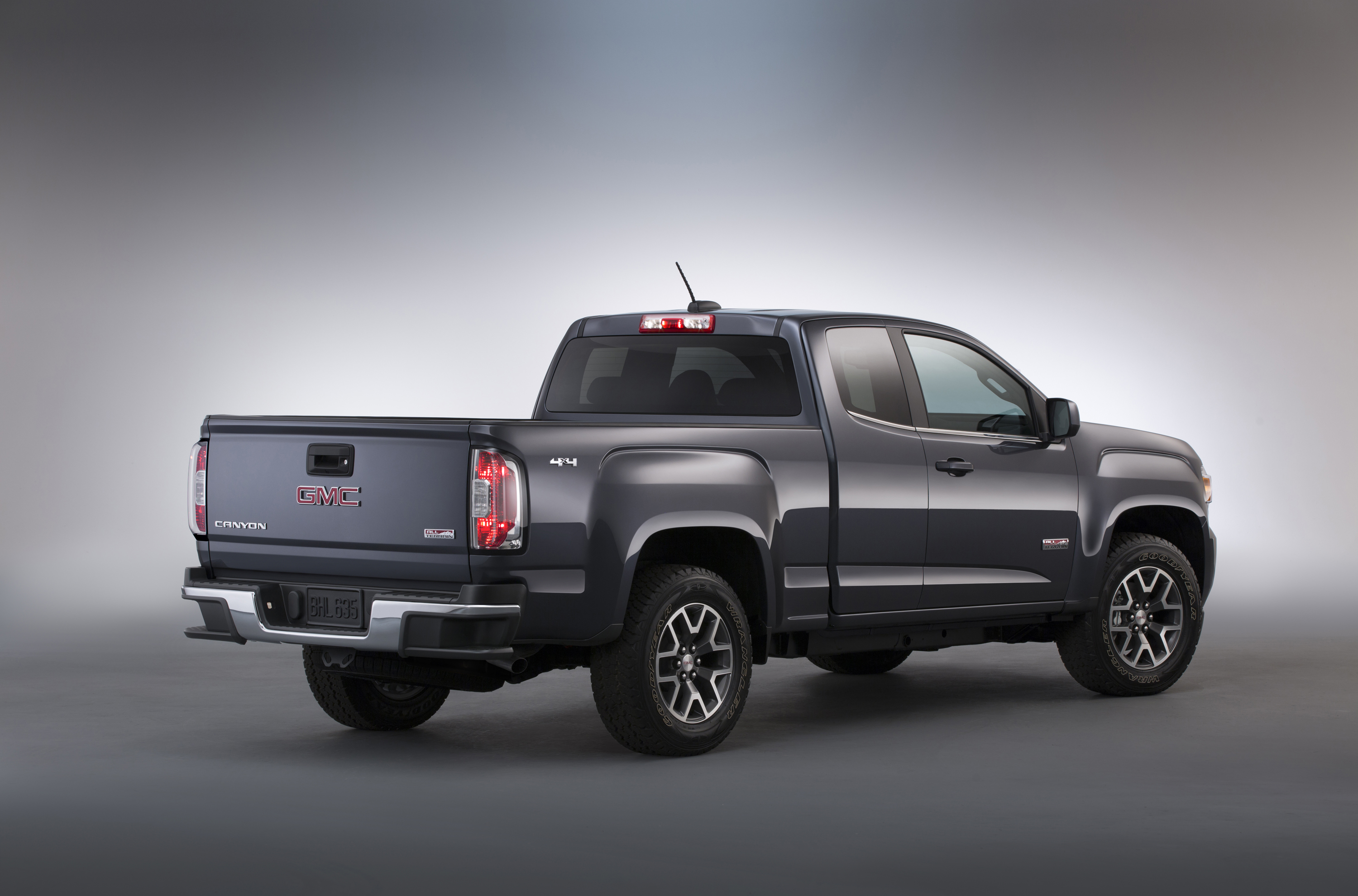 2015 Gmc Canyon All Terrain Sle Extended Cab Short Bed Rear Thre Motor Review
