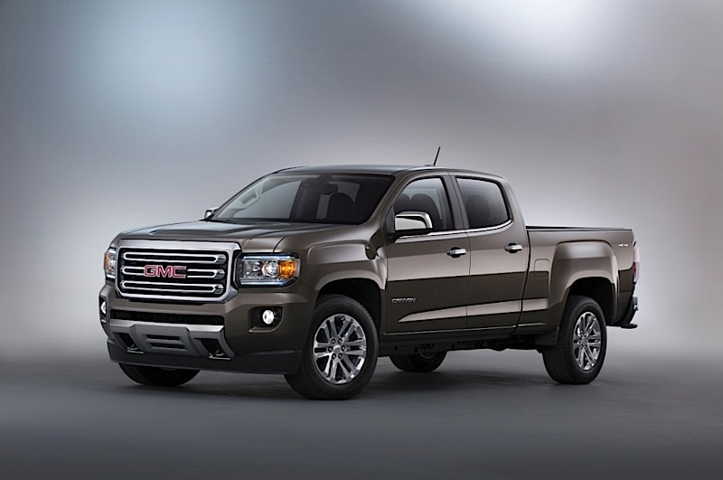 gmc makes case for midsize pickup truck with canyon motor review. Black Bedroom Furniture Sets. Home Design Ideas
