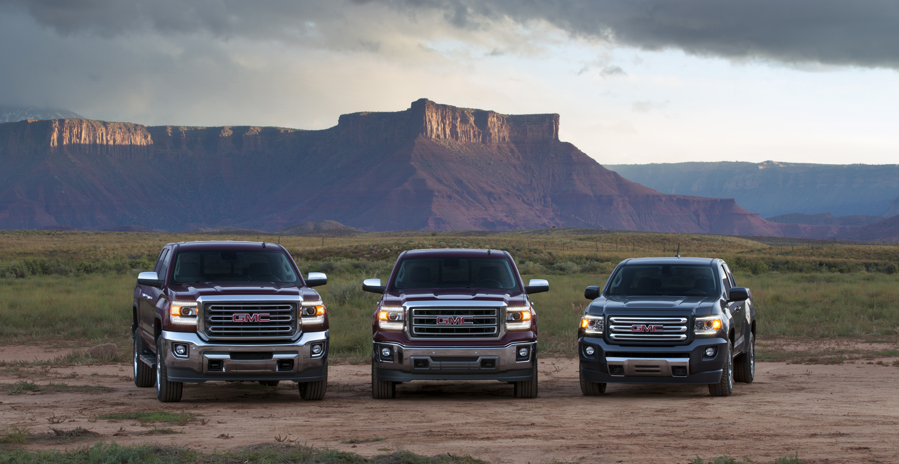 GMC Three Truck Portfolio - 2015 GMC Canyon All Terrain SLE Exte - Motor Review