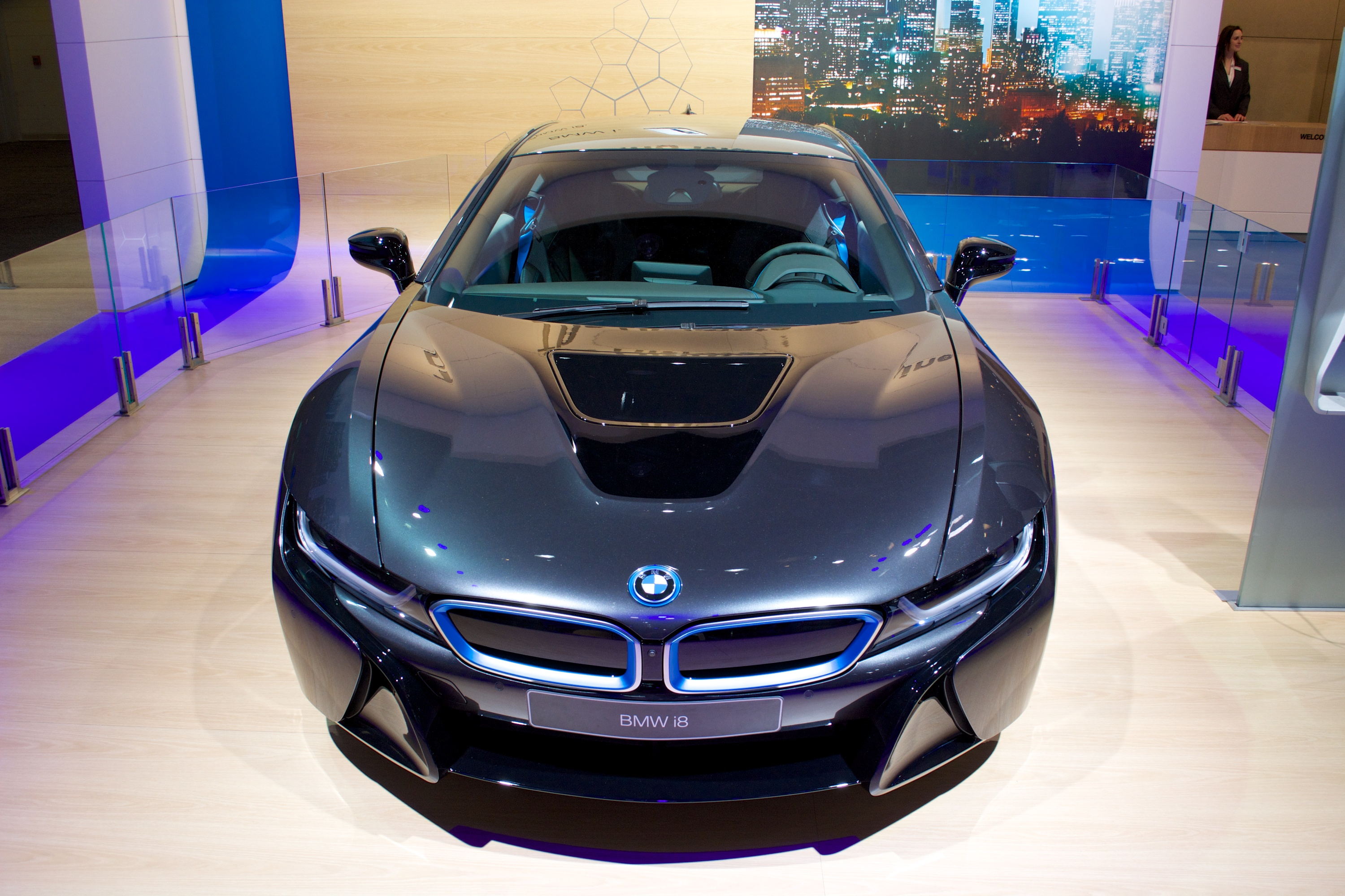 Bmw Says  U0026quot Hello Future U0026quot  With The I8 During Sochi 2014