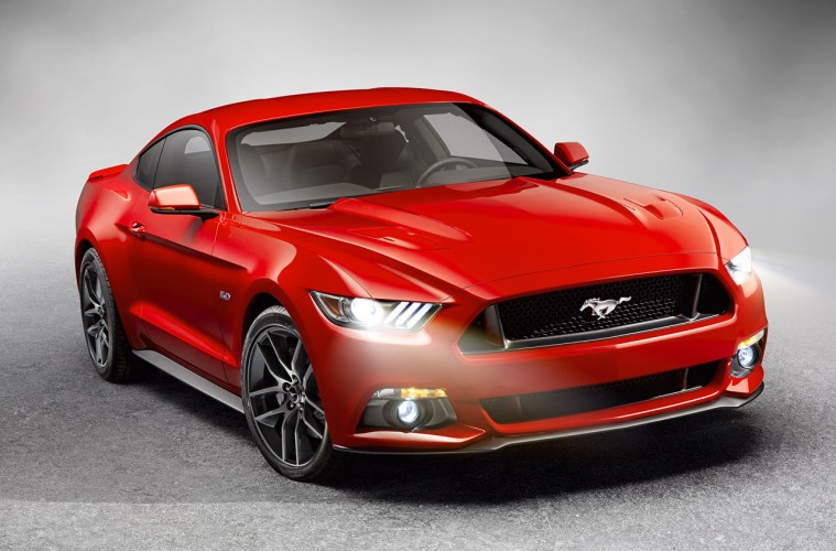 2015 Mustang Front