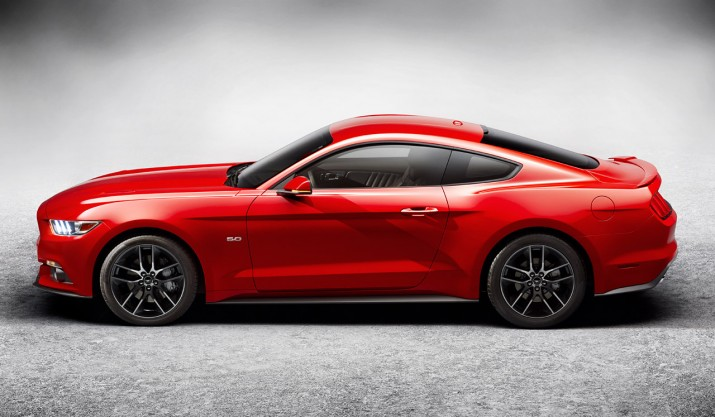 2015 Mustang Fastback