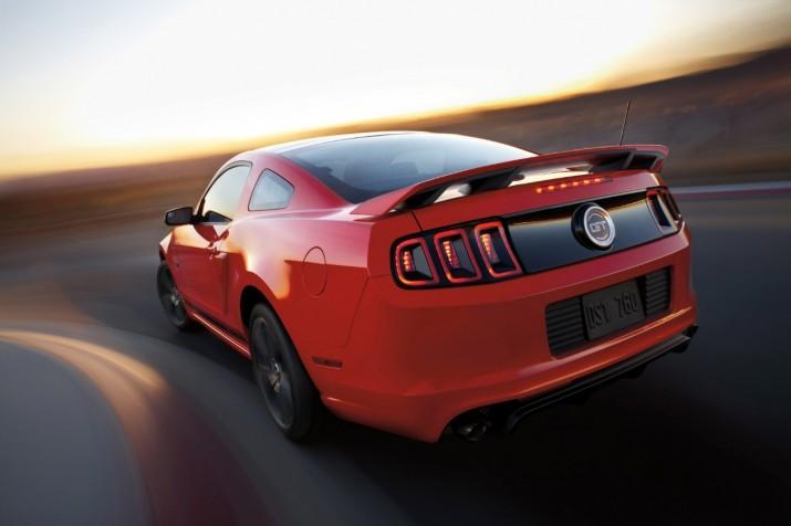 2014 Mustang Rear