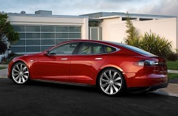 tesla electric vehicle hero