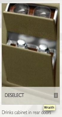 Rolls Royce Drinks Cabinet
