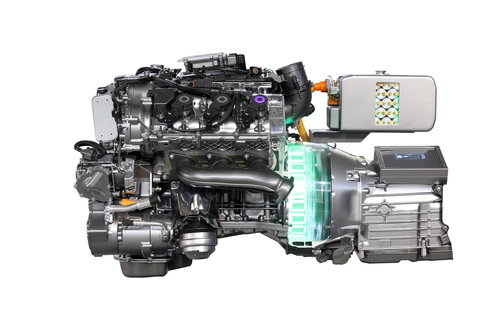 A Hybrid Engine Has An Electric Motor Attached To It Help Make Photo Shutterstock