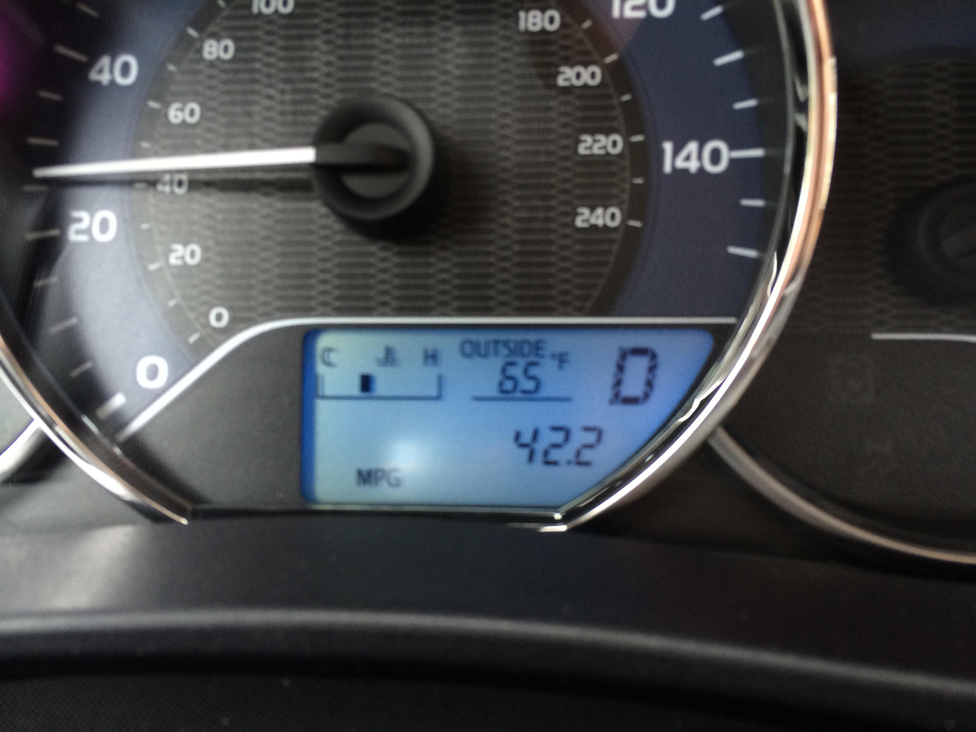 Itu0027s Easy To Score Good Fuel Economy In The Corolla.