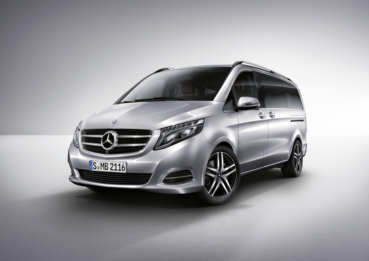 mercedes benz v class minivan ripe for us market motor. Black Bedroom Furniture Sets. Home Design Ideas