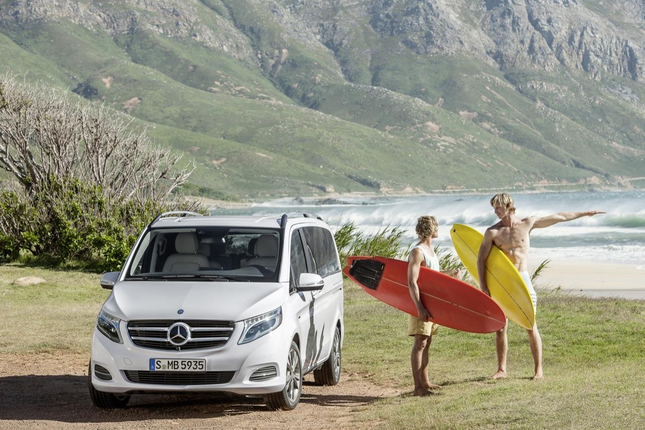 The New Mercedes Benz V Class U2013 V 250 BlueTEC, Exterior, Rock Crystal  White, Interior, Silk Beige Lugano Leather