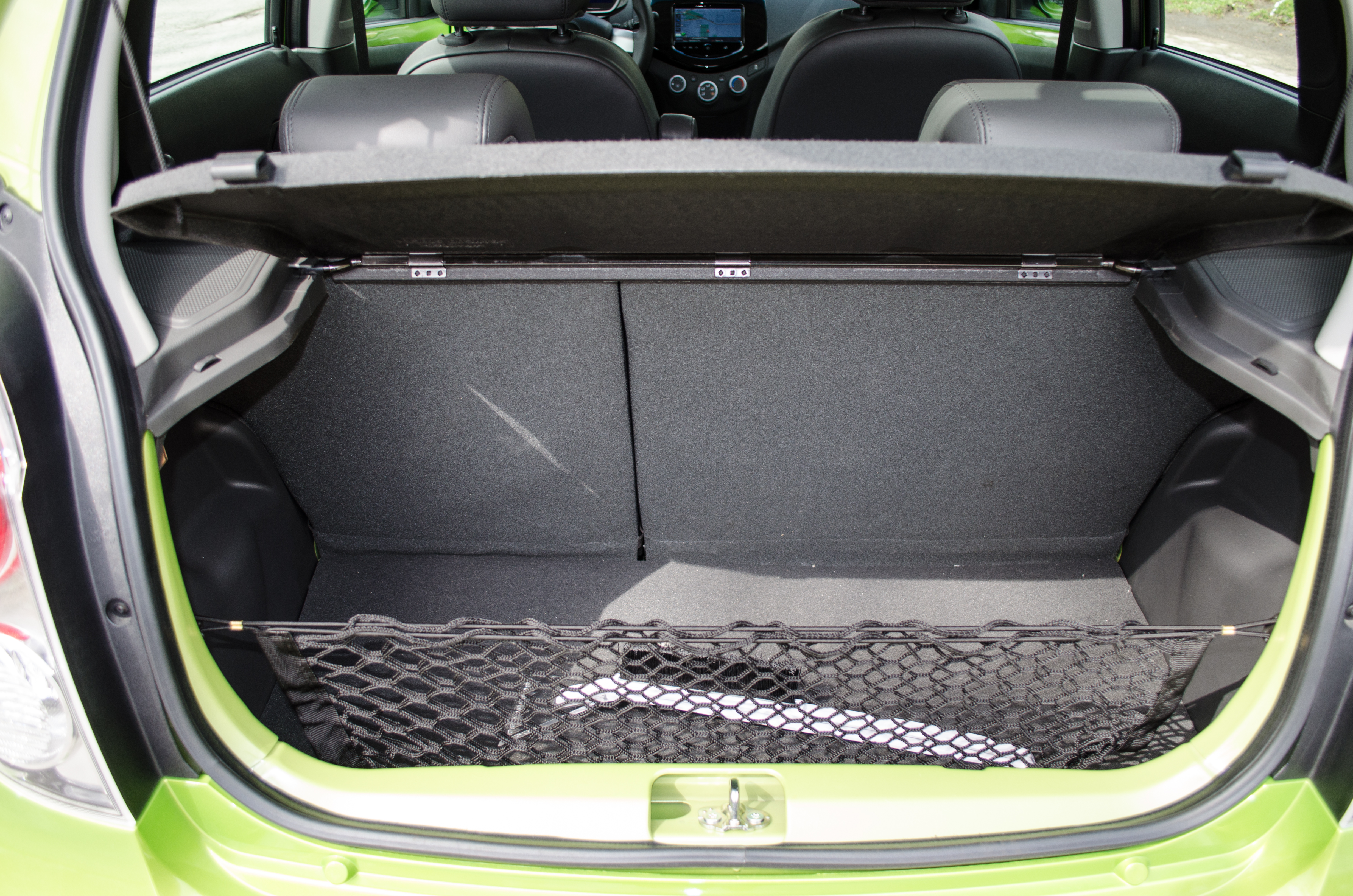 2014 Chevy Spark Review Motor Chevrolet Trunk