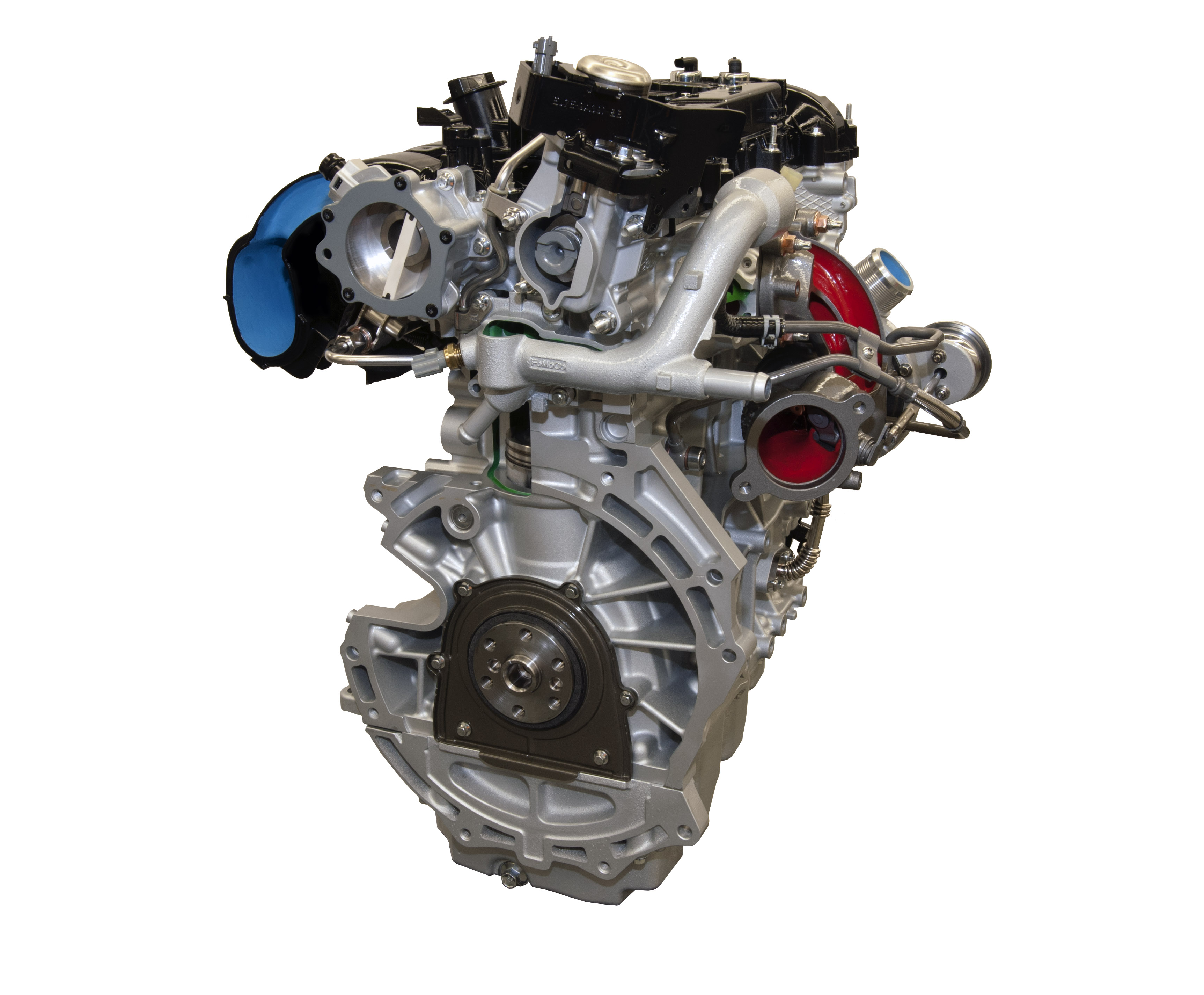 2015 Mustang. The engine ...