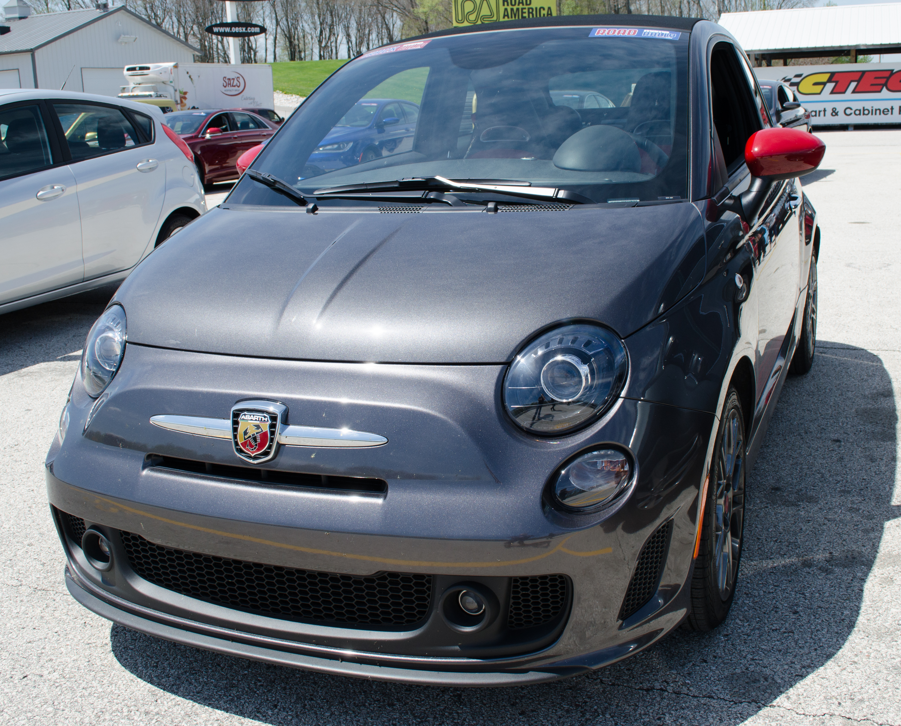 2014 fiat 500 abarth cabrio open top excitement. Black Bedroom Furniture Sets. Home Design Ideas