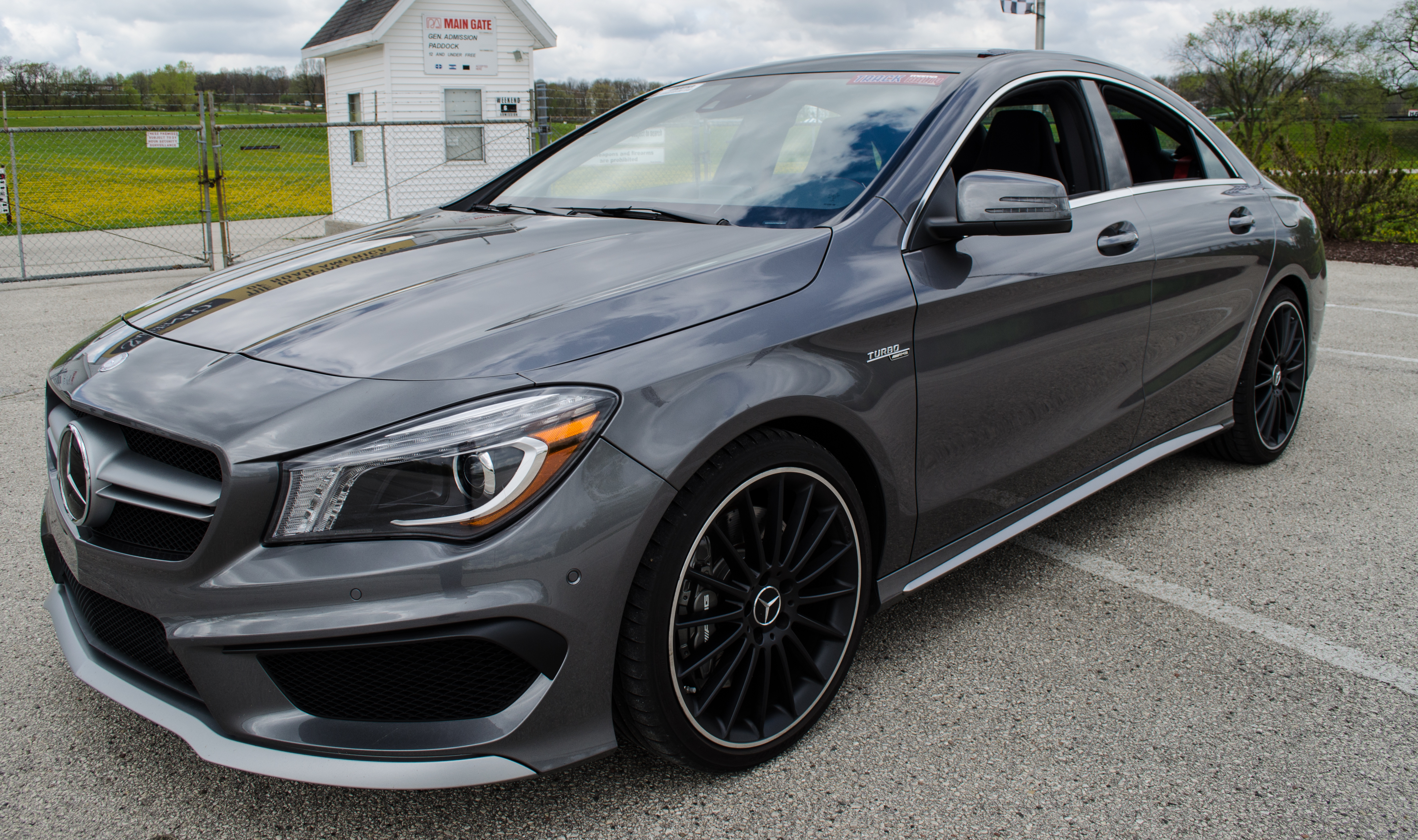 2014 Cla45 Amg Review Performance At A Premium Price on rear view camera