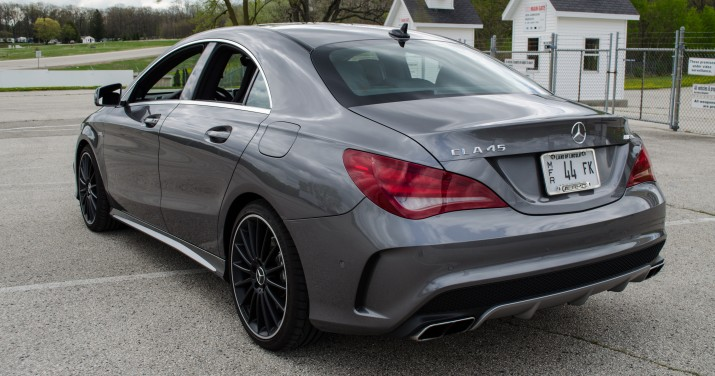 Mb Cla 45 Amg Review Autos Post