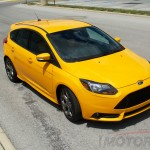 The Ford Focus ST review vehicle offered a fun and speedy ride.