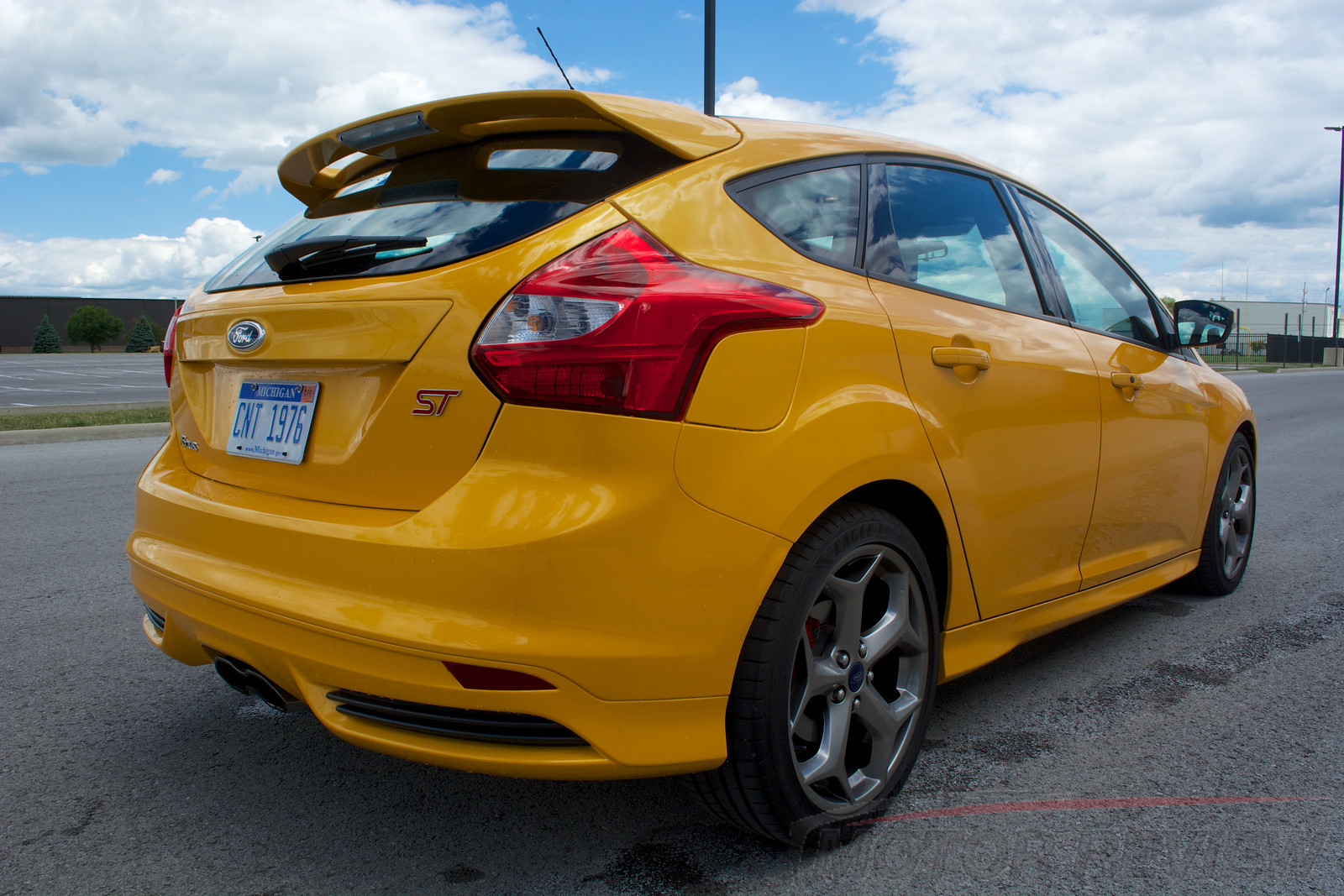 2014 Ford Focus St Review 4 Motor Review