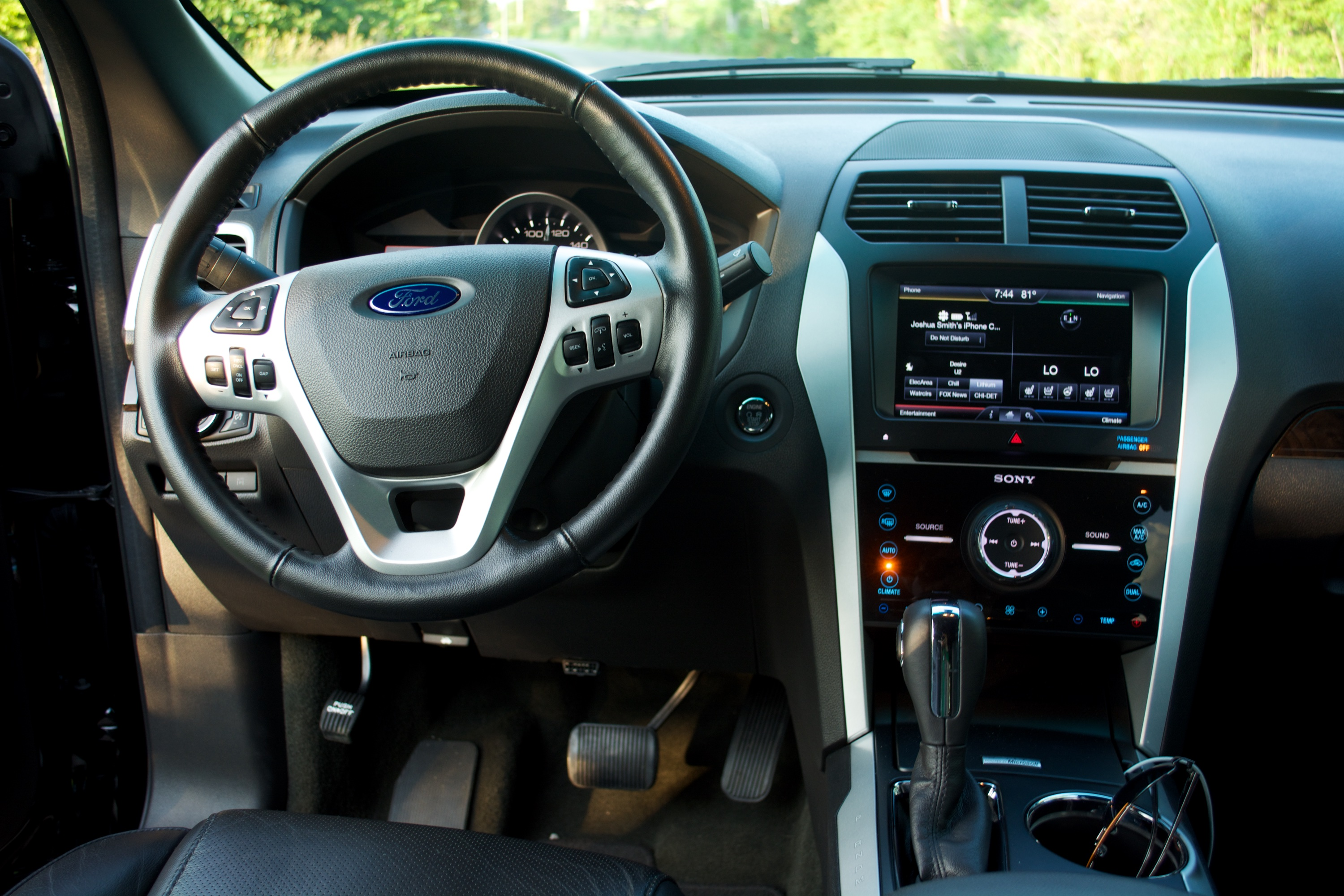 Black Ford Explorer >> 2014 Ford Explorer Limited Review - Motor Review