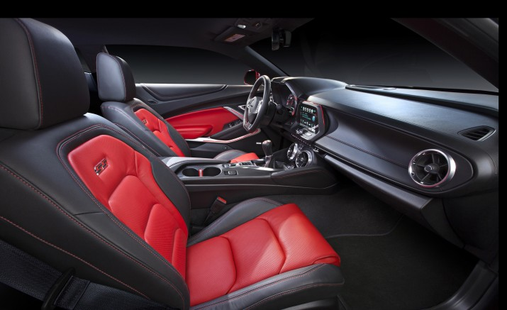 Look inside the new 2016 Camaro.